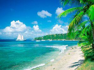 Райское место посреди Атлантического океана и Карибского моря - знаменитые Карибские острова